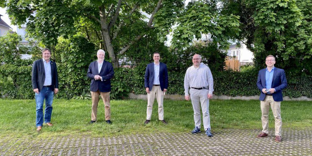 Peter Heidt, Dr.h.c. Jörg-Uwe Hahn, Dr. Stefan Naas, Oliver Feyl, Jens Jacobi